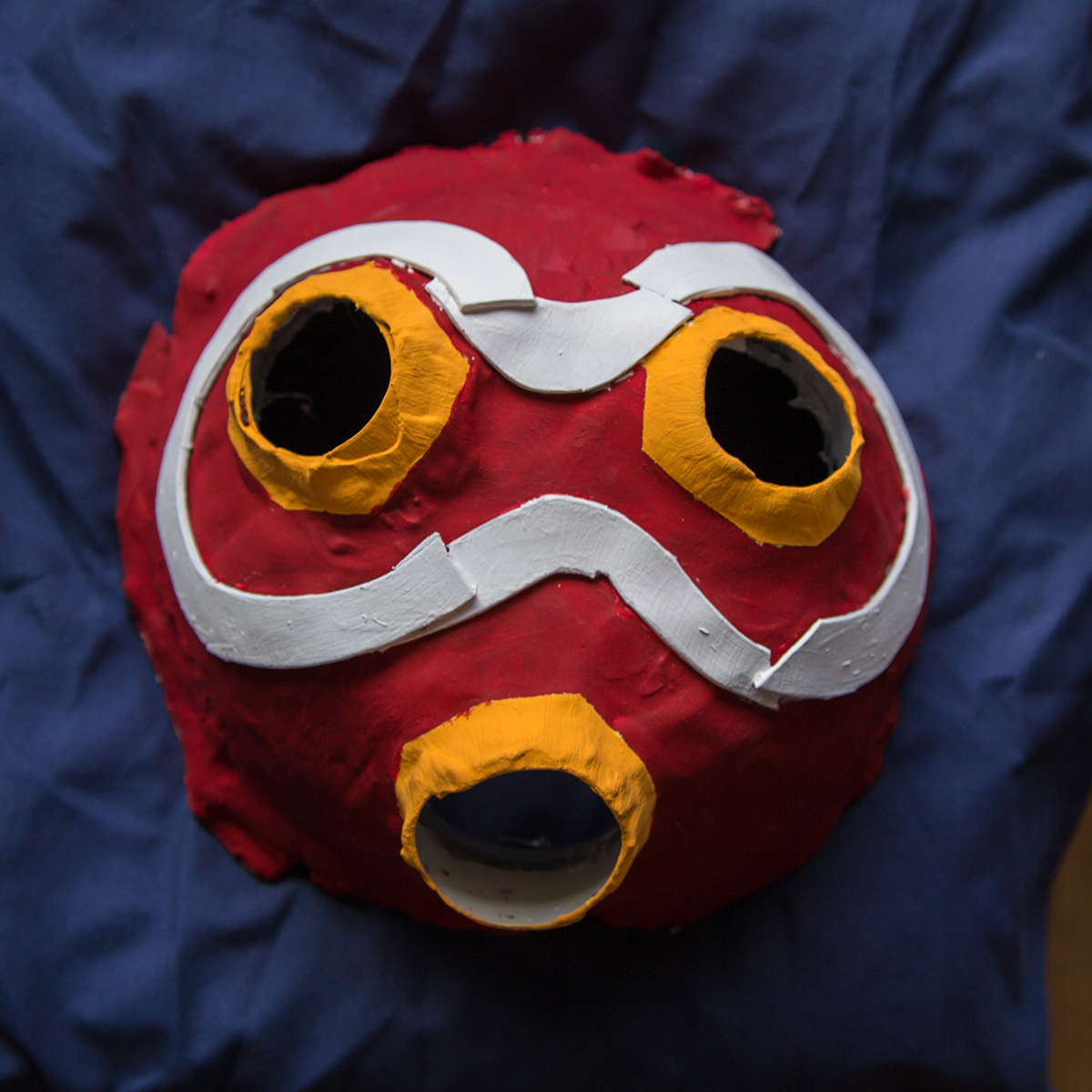 Princess Mononoke Mask Making