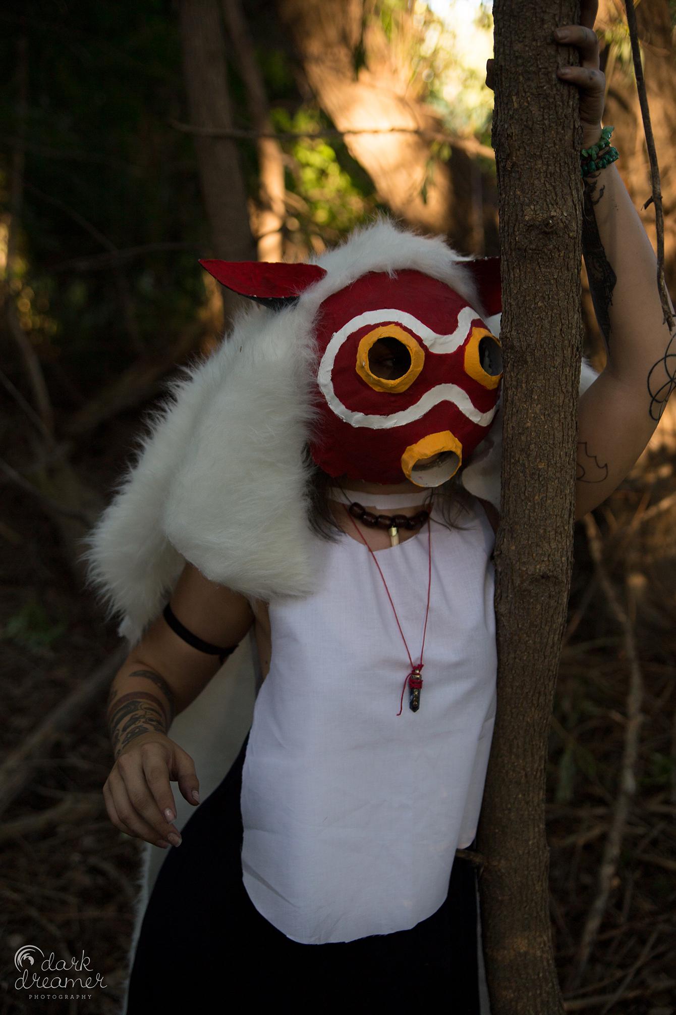 Princess Mononoke Cosplay Photoshoot Dark Dreamer Photography