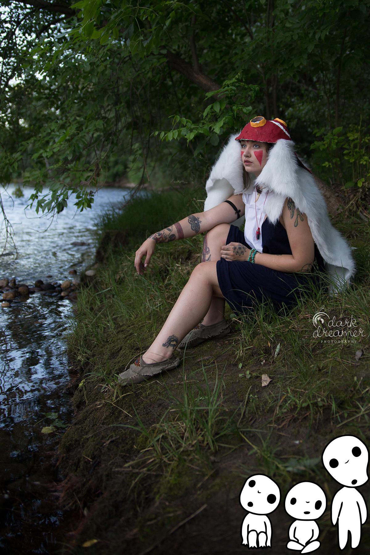 Princess Mononoke Cosplay Photoshoot